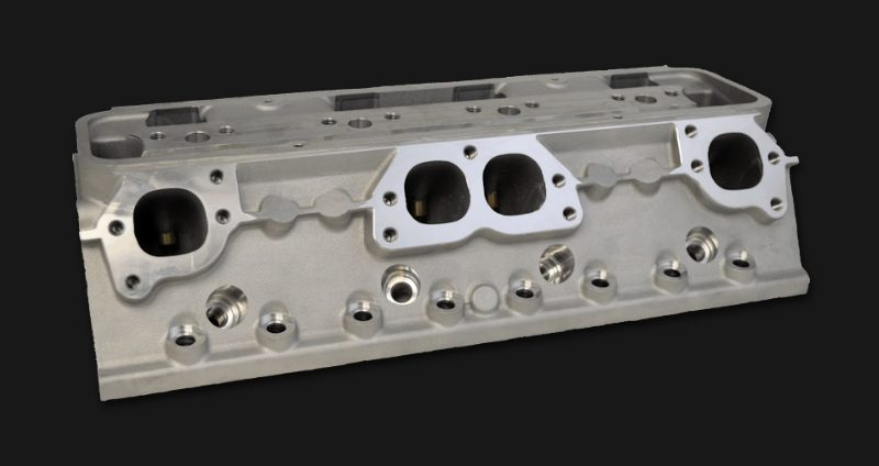 SBC CNC Ported 13 Degree Chevy All American Racing Series